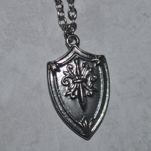 Jewelry - Silver Shield Necklace